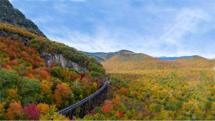 New England Amtrak Fall Foliage Tour