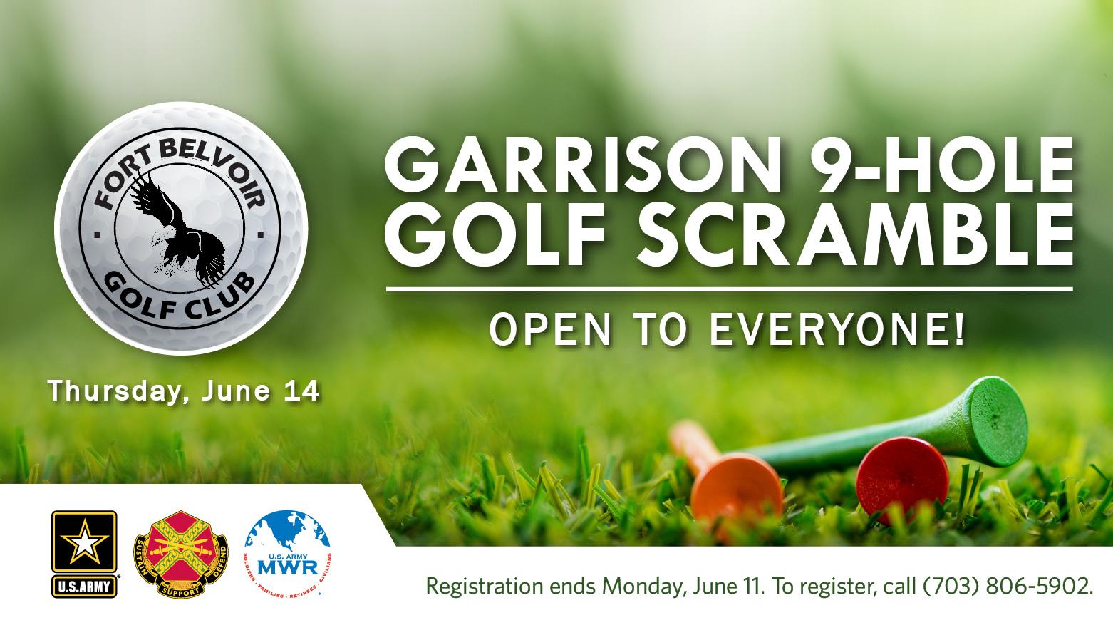 Garrison 9-Hole Golf Scramble