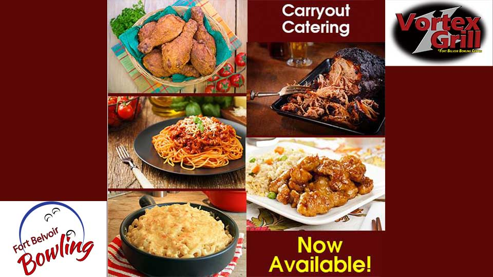 Carryout Catering Now Available at the Vortex Grill