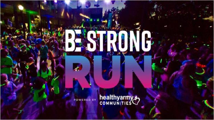 BE STRONG Glow Run 5k