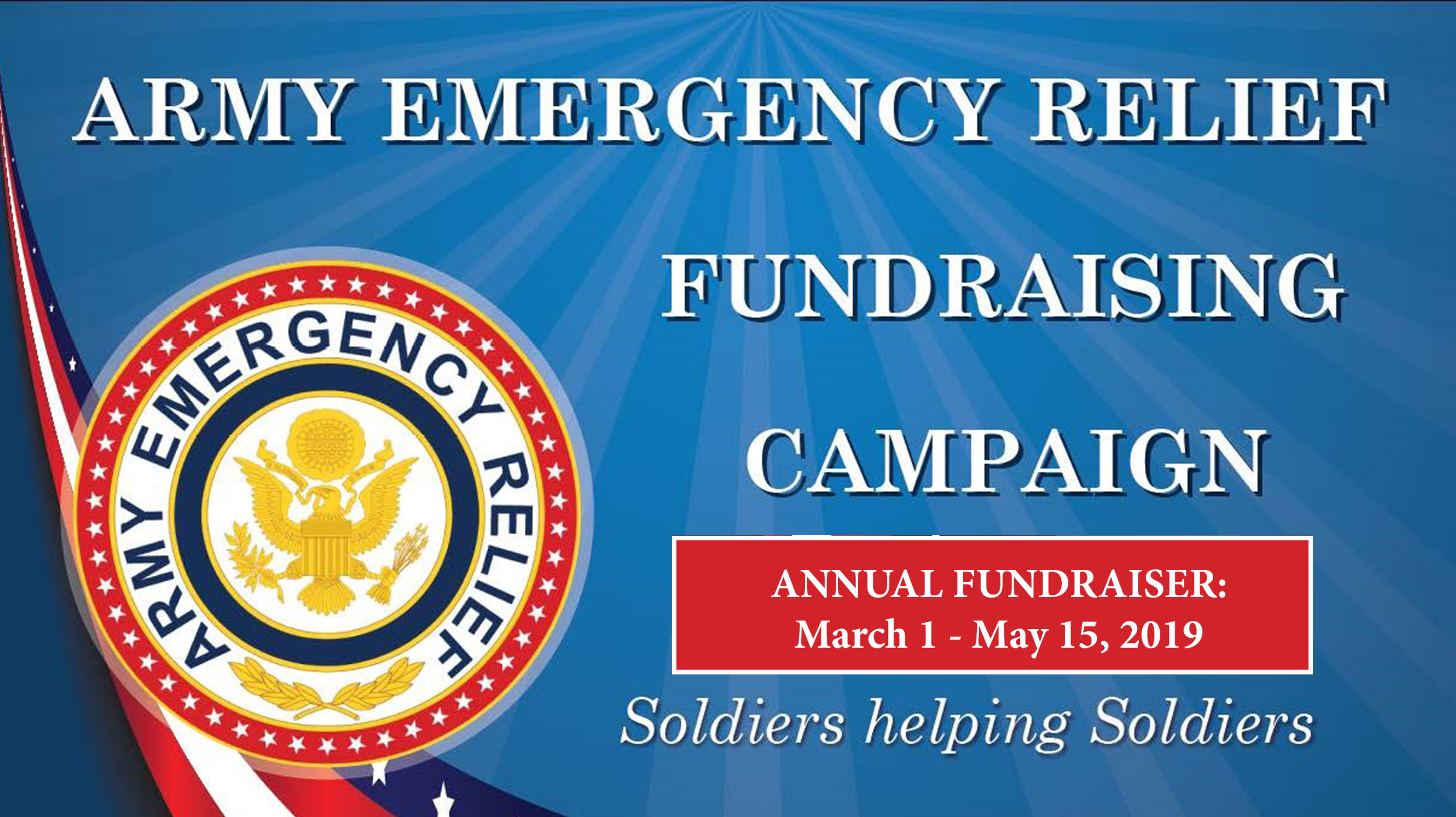 Army Emergency Relief (AER) Donation Drive!