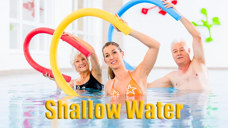 Water Aerobics: Shallow Water Class