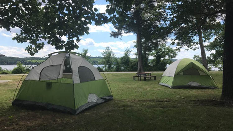 Tent Camping Now Available at Outdoor Recreation!
