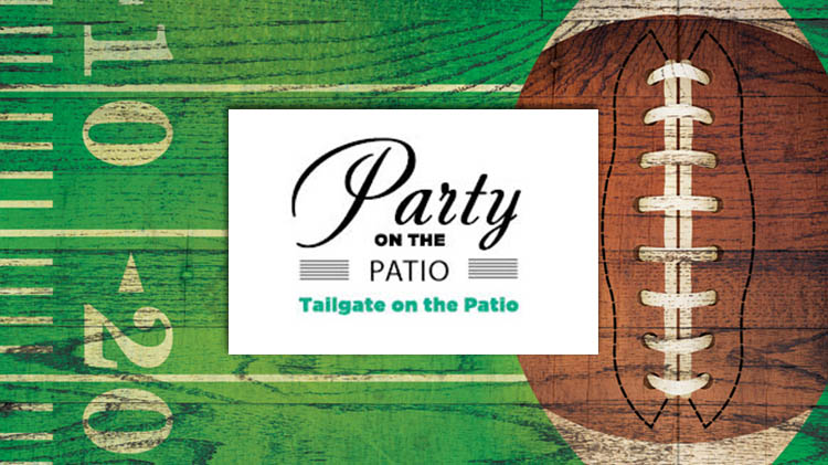 Party on the Patio: Tailgate on the Patio