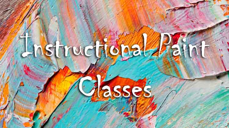 Instructional Paint Classes